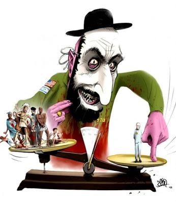 caricatura antisemita