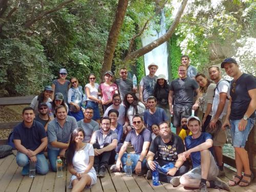 Tel Jai y Banias, Paseo y seminario 07/2018
